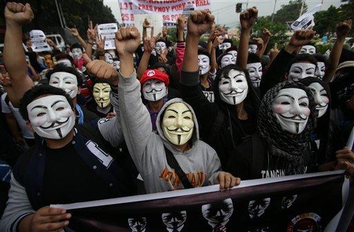 Marcha del millón de máscaras